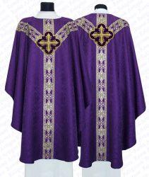 Casula semi-gótica cruz