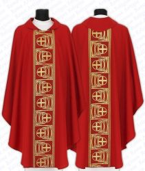 Casula cruz romana